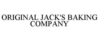 mark for ORIGINAL JACK'S BAKING COMPANY, trademark #85691299