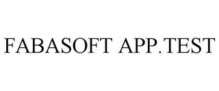 mark for FABASOFT APP.TEST, trademark #85691323
