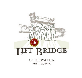 mark for LB LIFT BRIDGE STILLWATER MINNESOTA, trademark #85691683