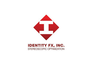 mark for I IDENTITY FX, INC. STEREOSCOPIC OPTIMIZATION, trademark #85691887