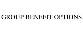 mark for GROUP BENEFIT OPTIONS, trademark #85691890