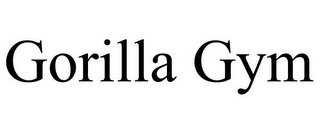 mark for GORILLA GYM, trademark #85691953