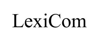 mark for LEXICOM, trademark #85691958