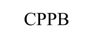 mark for CPPB, trademark #85692202