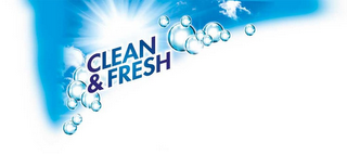 mark for CLEAN & FRESH, trademark #85692232