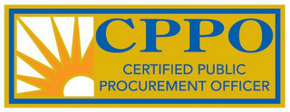 mark for CPPO CERTIFIED PUBLIC PROCUREMENT OFFICER, trademark #85692329