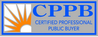 mark for CPPB CERTIFIED PROFESSIONAL PUBLIC BUYER, trademark #85692346