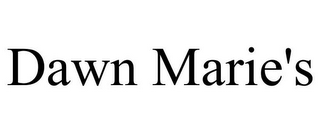 mark for DAWN MARIE'S, trademark #85692365