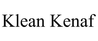 mark for KLEAN KENAF, trademark #85692823