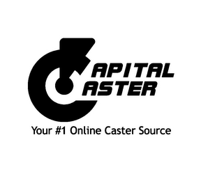 mark for CAPITAL CASTER YOUR #1 ONLINE CASTER SOURCE, trademark #85693032