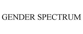 mark for GENDER SPECTRUM, trademark #85693152