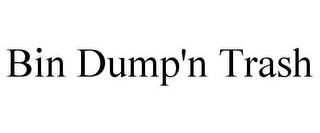 mark for BIN DUMP'N TRASH, trademark #85693190