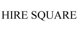 mark for HIRE SQUARE, trademark #85693216