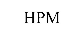 mark for HPM, trademark #85693241