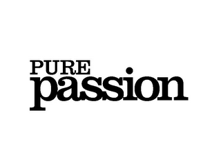 mark for PURE PASSION, trademark #85693424