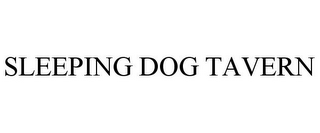 mark for SLEEPING DOG TAVERN, trademark #85693477