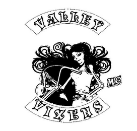 mark for VALLEY VIXENS MC, trademark #85693511