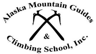 mark for ALASKA MOUNTAIN GUIDES & CLIMBING SCHOOL, INC., trademark #85693580
