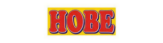 mark for HOBE, trademark #85693704