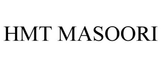 mark for HMT MASOORI, trademark #85693849