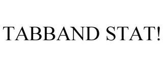 mark for TABBAND STAT!, trademark #85694101