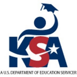 mark for KSA A U.S. DEPARTMENT OF EDUCATION SERVICER, trademark #85694363