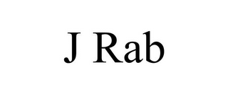 mark for J RAB, trademark #85694413