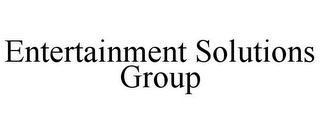 mark for ENTERTAINMENT SOLUTIONS GROUP, trademark #85694427