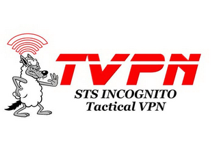 mark for TVPN STS INCOGNITO TACTICAL VPN, trademark #85694435