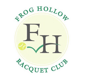 mark for FROG HOLLOW FH RACQUET CLUB, trademark #85694441