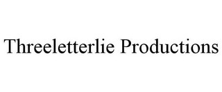 mark for THREELETTERLIE PRODUCTIONS, trademark #85694638