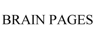 mark for BRAIN PAGES, trademark #85694929