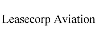 mark for LEASECORP AVIATION, trademark #85695055