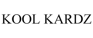 mark for KOOL KARDZ, trademark #85695210