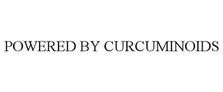 mark for POWERED BY CURCUMINOIDS, trademark #85695211