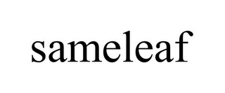 mark for SAMELEAF, trademark #85695214
