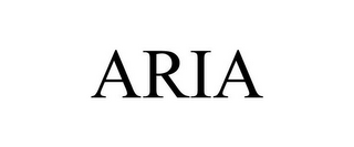 mark for ARIA, trademark #85695249