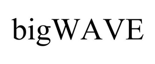 mark for BIGWAVE, trademark #85695503