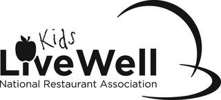 mark for KIDS LIVE WELL NATIONAL RESTAURANT ASSOCIATION, trademark #85695608