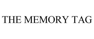mark for THE MEMORY TAG, trademark #85695651