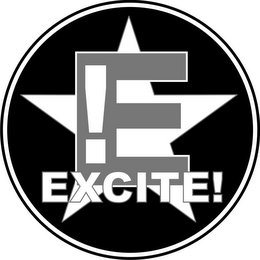 mark for E! EXCITE!, trademark #85695703