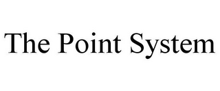 mark for THE POINT SYSTEM, trademark #85695901