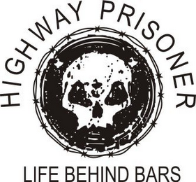 mark for HIGHWAY PRISONER LIFE BEHIND BARS, trademark #85696360