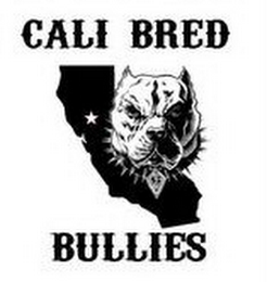 mark for CALI BRED BULLIES, trademark #85696499