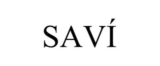 mark for SAVÍ, trademark #85696567