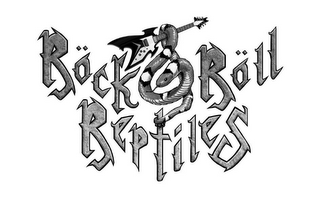 mark for ROCK & ROLL REPTILES, trademark #85696578
