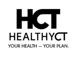 mark for HCT HEALTHYCT YOUR HEALTH - YOUR PLAN, trademark #85697174