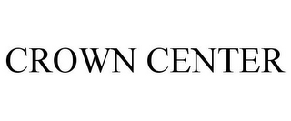 mark for CROWN CENTER, trademark #85697176