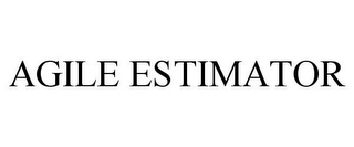 mark for AGILE ESTIMATOR, trademark #85697242