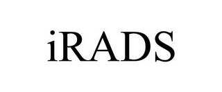 mark for IRADS, trademark #85697937